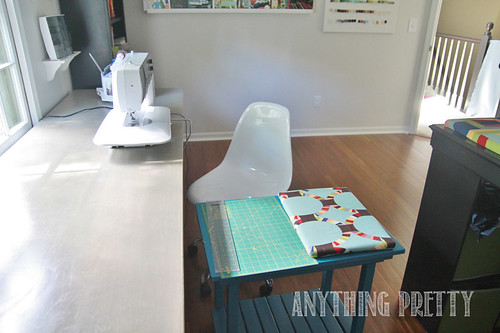 Craft/Sewing Room- Anything Pretty