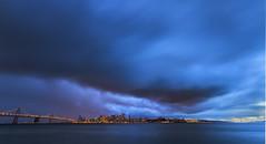 Blue Sunset photo by Davor Desancic