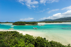 Paradise beach on Ishigaki island, Okinawa prefecture, Japan photo by SamKent22