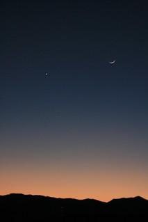 Moon and Venus?