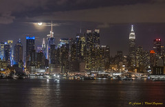 MIdtown Manhattan - Lunar eclipse photo by Photosequence