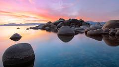Bonsai Rock, Lake Tahoe photo by Blu3ness