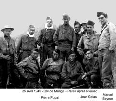 BM 4 Chambarand - 1945 25 Avril_Croix de Mairige - Col. Emile Gauthier