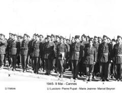 BM 4 Chambarand - 1945 9 Mai_ Cannes  - Col. Emile Gauthier