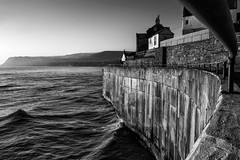 Sea Wall - Robin Hoods Bay photo by Fineart-Landscapes.co.uk