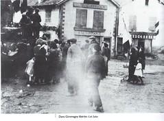 1945- Franche-Comté-Vosges- Dans Giromagny libéré - Col. Zeller - Source   La Voge 2012 Hors série - Libération du pays sous-vosgien AHPSV