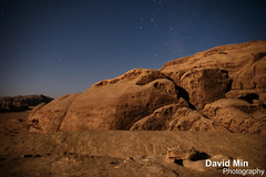 Wadi Rum, Jordan - Moonlight In The Valley Of The Moon photo by GlobeTrotter 2000
