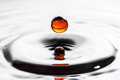 Orange Drop photo by Muhammad Al-Qatam