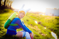 Courtoon as Fiona Anime St. Louis 2013 Adventure Time Cosplay photo by WhiteDesertSun