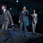 Devin DeSantis, Nate Burger and LaShawn Banks. Photo by Robert Carl.