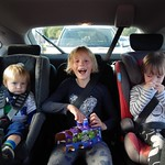 James realised he is in the wrong car<br/>21 Sep 2013