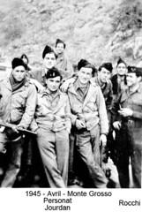 BM 4 Chambarand - 1945 Avril_Monte Grosso Jourdan peronarocci - Fonds Emile Gauthier
