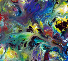 Flowing Fluid Painting 76 photo by markchadwickart
