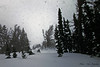 02/08/14-  Storm skiing in Jackson hole.  The flakes keep falling...