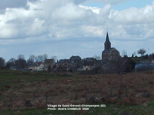 Village de Saint-Genest-Champespes (63-Puy-de-Dôme)