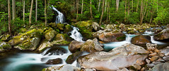 Mouse Creek Spring Panoramic photo by pvarney3