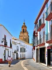 Carmona ( Provine of Seville )  : Iglesia San Bartolomé  / Calle Prim  - 3/3  - EXPLORE  #162 photo by Pantchoa
