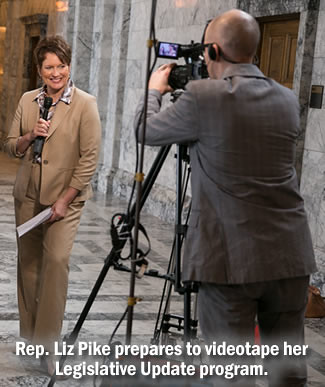 Rep. Liz Pike - Video update