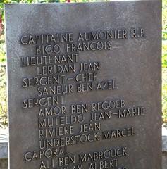 Franche Comté - Cheminsde mémoire- Eboulet : Stèle au 22e BMNA
