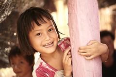 Thai child photo by hin yiu