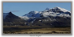 Mountains in North Iceland photo by rikardur>bergstad