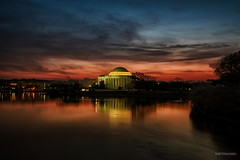 Jefferson Memorial Before Sunrise (AS3A8823-sig) photo by Scott Fracasso Photography