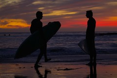 Sunset Surfer Dudes photo by sampost