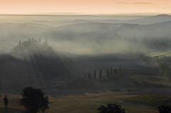 Tuscany morning mood photo by Giuseppe Toscano
