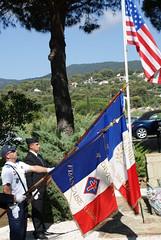 Cavalaire- Monument 1ere DFL - commémoration