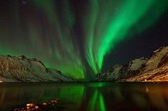 nightlight in the fjord photo by John A.Hemmingsen