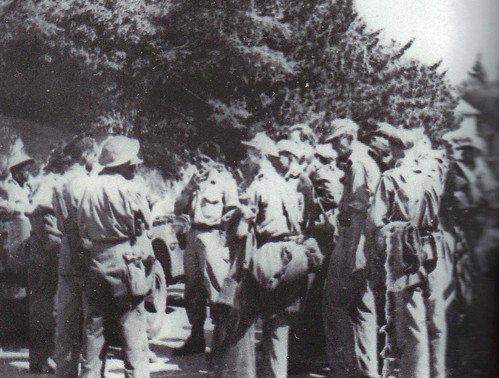 1944 - Provence- marins du MFlaA 819 face aux marsouins du BM 21 - général gras- Gaujac