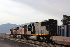 BNSF Stack Train in Tehachapi, CA photo by CaliforniaRailfan101 Photography