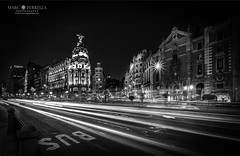Traffic on the Gran Via (Explored) photo by Marc Perrella