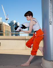 Chell from Portal at Fan Expo 2013 photo by andreas_schneider