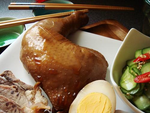 Soy Sauce Marinated Chicken Leg 鹵雞腿