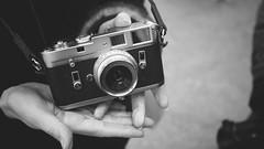 Junko-san's Leica. One more time! photo by Eric Flexyourhead