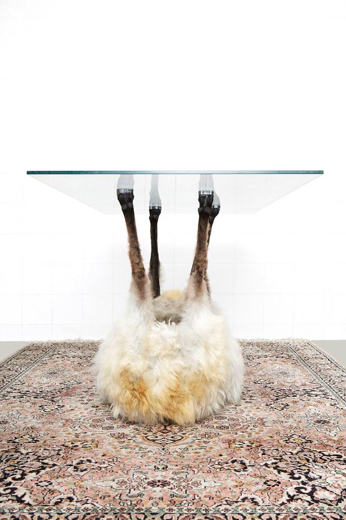 栩栩如生的动物脚桌!