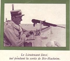 13 DBLE - 1942- Libye- Bir Hakeim- Lieutenant jean DEVE
