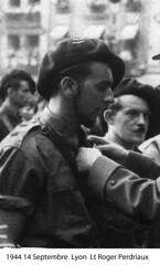 BM4- Chambarand -1944 -  14 Septembre- Lyon- Roger Perdriaux - Fonds Emile Gauthier