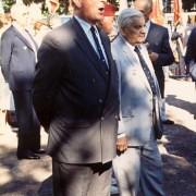 André Gravier-avec-Charles-Leclerc-de-hautecloque-1991-  - Crédit photo : Jérôme Kerfech