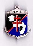 BM 4 -Insigne - Col B. Bongrand Saint Hillier