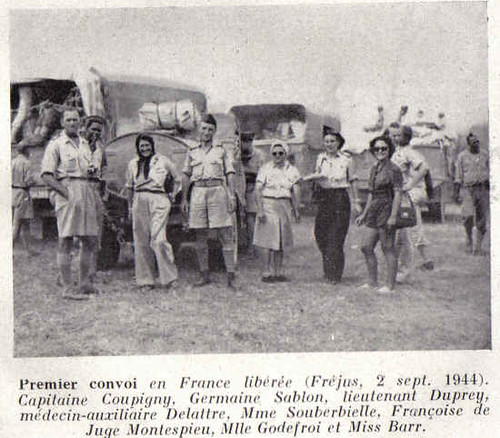 Santé - Provence 1944 - Germaine sablon et spears