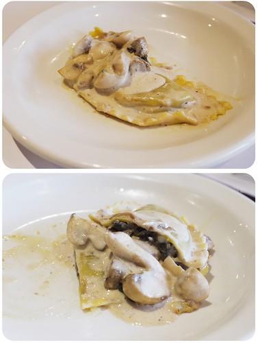 酒香蘑菇義大利餃