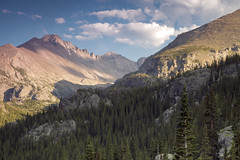 Longs Peak and Glacier Gorge photo by KNikolaev