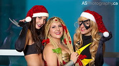 Everyone have a very Merry Christmas from ASPhotography and Cosplayers Canada. Thank you for all your support this year. Xmas-23, Winter Wonder Woman, Ms. Merry Marvel by the Cosplay Sisters at Toronto Comic Con photo by andreas_schneider