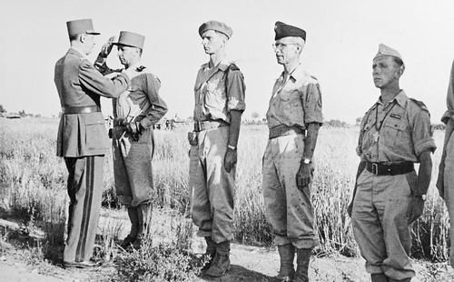1944- Italie- Le Corps Expéditionnaire Français en Italie en mai - juin 1944.