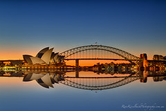 Sydney Harbour reflections photo by rene.kisselbach.photography