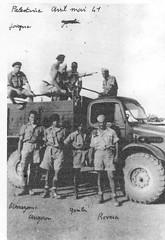 Génie - 1941 - Avril mai- Palestine- Col. Ozanne