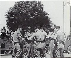 1944 - Provence- Gabriel Brunet de Sairigne à droite