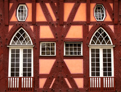 Half-timbered House photo by Batikart